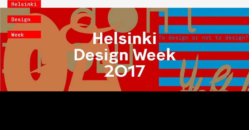 헬싱키 디자인 위크HDW 2018Helsinki Design Week
