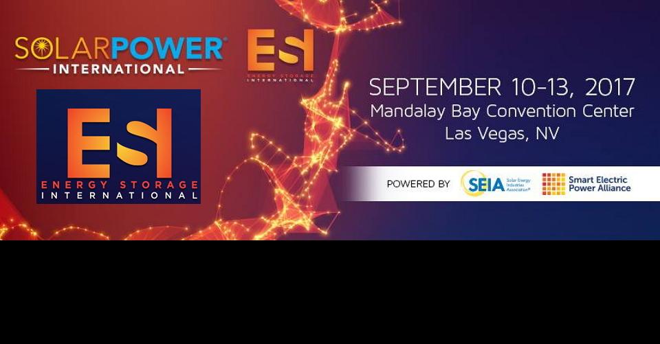 라스베가스 태양광 박람회Solar Power International 2017Solar Power Exhibition and Conference