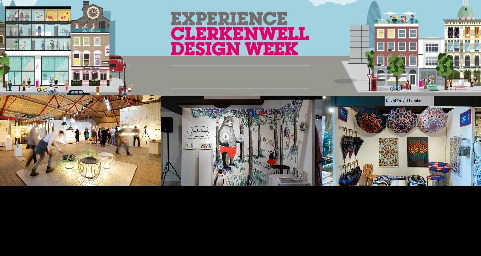런던 클락큰웰 디자인 위크CDW 2017Clerkenwell Design Week