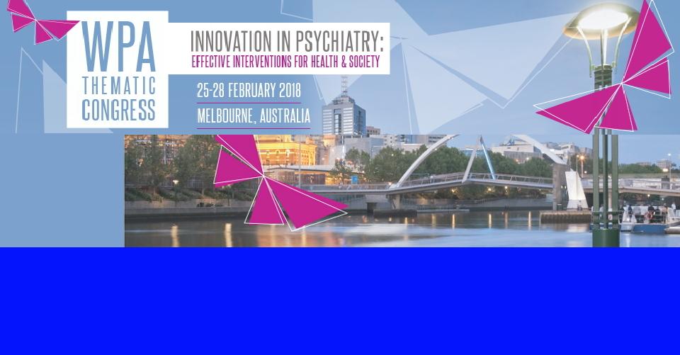 베를린 세계 정신 의학 협회 회의WPA 2017World Psychiatric Association  Congress