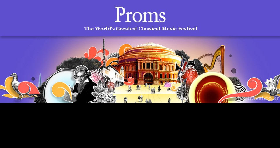 런던 프롬스 음악 페스티벌PROMS 2017Promenade Concert